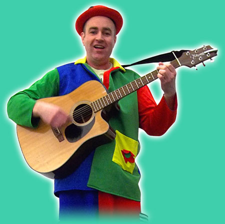 Sing-a-long musical entertainer for toddlers parties